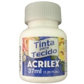 TINTA TECIDO FOSCO BRANCO 37ML REF 519
