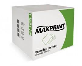 FORMULARIO CONTINUO 2 VIAS 80 COLUNAS MAXPRINT CX1500JGS COD 3034