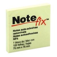 BLOCO ADESIVO 76X76 AMARELO NOTEFIX NF4