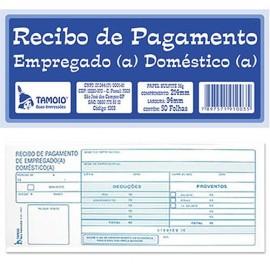 RECIBO DE EMPREGADA DOMESTICA