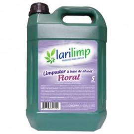 ALCOOL LIMPADOR FLORAL 5 LITROS
