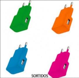 CARREGADOR USB 2.1A CB080 SORTIDO