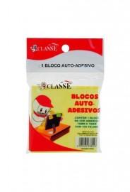 BLOCO ADESIVO 76X76 AMARELO CLASSE REF MC8802