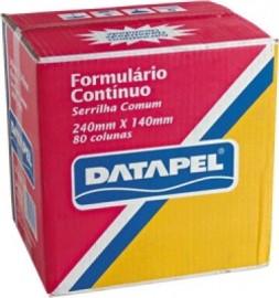 FORMULARIO CONTINUO 3 VIAS 80 COLUNAS RAZAO DATAPEL CX1800