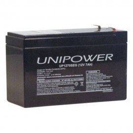 BATERIA INTERNA PARA NOBREAK 12V / 7AH UNIPOWER