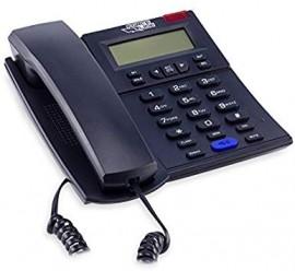 TELEFONE MULTIFUNCIONAL PRETO REF 891 COM IDENTIFICADOR DE CHAMADAS E VIVA VOZ
