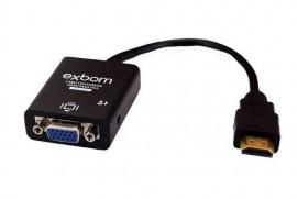 CABO CONVERSOR HDMI P/VGA COM AUDIO CC-HV100