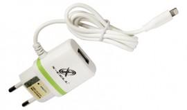 CARREGADOR USB 2.8A ULTRA RAPIDO COM 1 ENTRADA USB  MICRO USB REF XC-V8-GLX