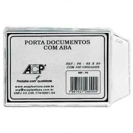 PORTA DOCUMENTO 65X90MM ACP P-6