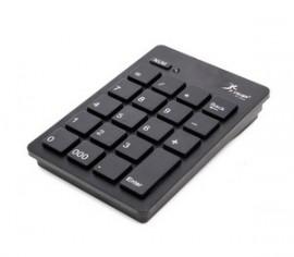 TECLADO USB SEM FIO NUMERICO KP-2038 PRETO