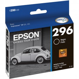 CARTUCHO EPSON T296120 PRETO 4ML