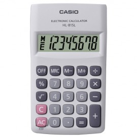 CALCULADORA  8 DIGITOS HL-815L BRANCO 6,9X11,8 CM