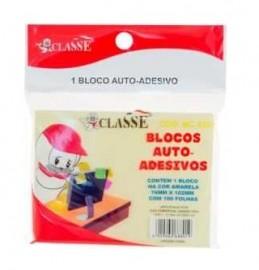BLOCO ADESIVO 76X102 AMARELO CLASSE REF MC8801