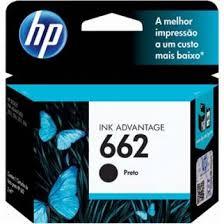 CARTUCHO HP 662 CZ103AB PRETO 2 ML