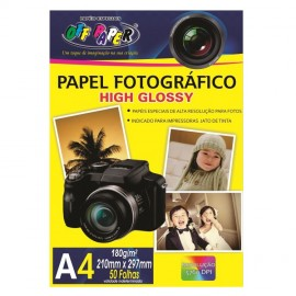 PAPEL FOTO GLOSSY PAPER 180G OFF PAPER PT50