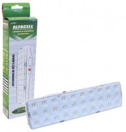 LANTERNA EMERGENCIA ALFACELL 30 LEDS REF AL08015